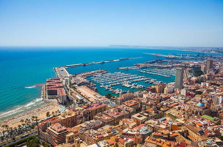 Alicante City, Spain