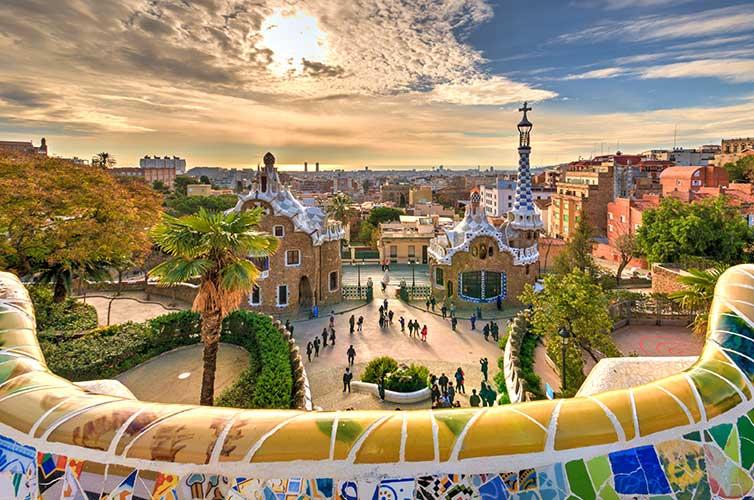 Barcelona, Spain: Guell Park