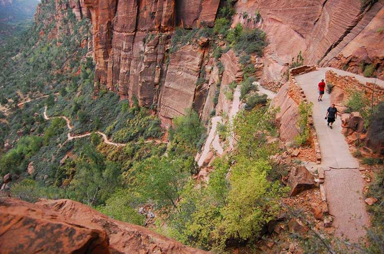 backpacking zion