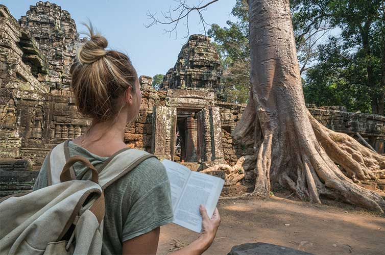 Cambodia traveling