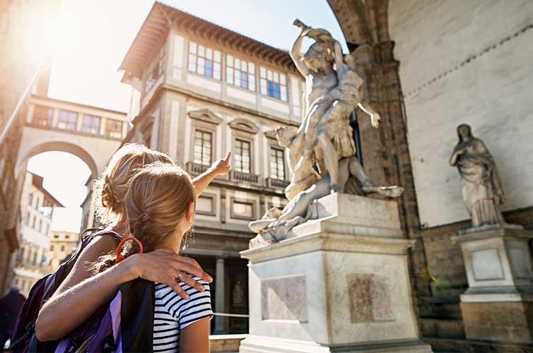 Traveling around Italy