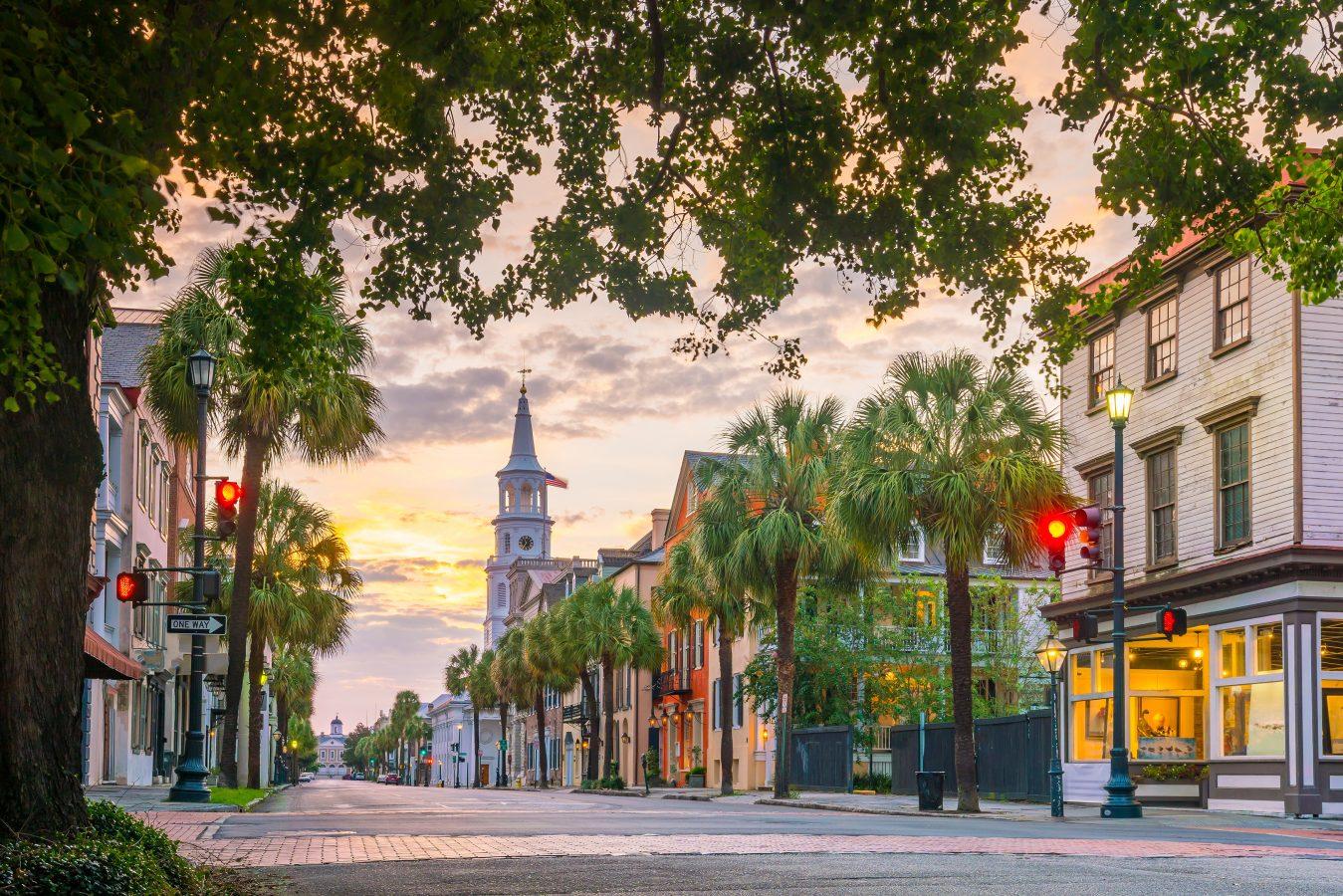 Charleston-south carolina-sunset